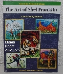 "MBA #4141-0018  ""2001 The Art Of Shel Franklin A Personal Journey"" AANRAKU Stained Glass Pattern Book"