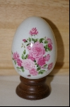 "1988 Avon ""Summer Roses"" Ceramic Egg"