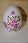 "1988 Avon ""Summer Roses"" Ceramic Collectors Egg"