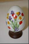 "Avon 1988 ""Spring's Brilliance"" Ceramic Collectors Egg"