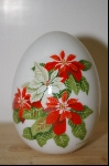 "Avon 1987 ""Winter's Treasure"" Ceramic Collectors Egg"