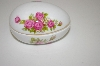 Porceline Rose Egg Shaped Dish