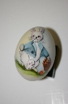 Hand Painted, Dated, Numbered & Signed Fine Bone China Egg