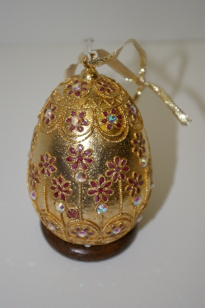 "+ MBA #10-265  ""NYCO Elegant Designs Enameled Egg"