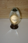 +MBA #10-220   Large Solid Crystal Egg