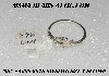 "+MBA #5609-0018   ""Sterling Ring Setting"""