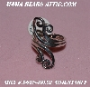 "+MBA #5608-0052   ""Fancy Sterling Silver Adjustable Ring"""