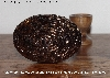 "+MBA #5608-224  ""Metallic Copper Glass Bead Egg With Stand"""