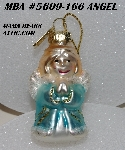 "MBA #5609-166  ""2004 Thomas Pacconi Advent Angel Replacement Ornament"""
