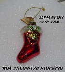 "MBA #5609-170  ""2004 Thomas Pacconi Advent Stocking Replacement Ornament"""