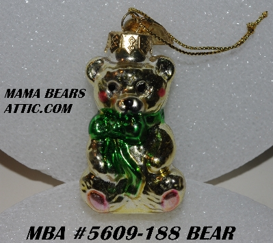 "+MBA #5609-188  ""2004 Thomas Pacconi Advent Bear Replacement Ornament"""