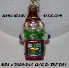 "MBA #5609-215  ""2004 Thomas Pacconi Advent Jack-In-The-Box Replacement Ornament"""
