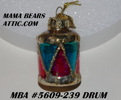 "+MBA #5609-239  ""2004 Thomas Pacconi Advent Drum Replacement Ornament"""