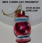 "MBA #5609-245  ""2004 Thomas Pacconi Advent Ornament Replacement Ornament"""