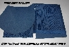 "+MBA #5610-82  ""1990'S Tandy Leather (2) Pieces Of  Blue Laminated Pigskin Suede"""