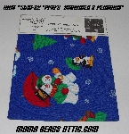 "MBA #5610-0082  ""1990's Fabrics For Crafting ""Snowmen & Penguins Fabric"""