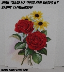 "+MBA #5610-67  ""1993 Manor Art ""Red Roses By Reina"" #407 Lithograph"""