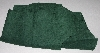 "+MBA #5610-105  ""1990's Tandy Leather Dark Green Pigskin Suede"""