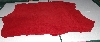 "+MBA #5610-274  ""1990's Tandy Leather Red Pigskin Suede Hide"""