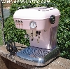 "+MBA  #Pink14-0036 ""2005 Baby Pink Ascaso Dream MF Pods Expresso Machine"""