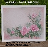 "+MBA #5611-0060  ""1995 Crystal Skelly ""Pink Roses"" Litho #IM216"""
