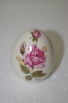 Heavy Porceline Pink Rose Egg
