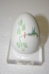 White Fine Bone China Embossed Egg