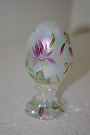 """SOLD""   **Fenton Limited Edition Floral Egg"
