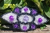 "MBA #5617B-462  ""Purple & Clear Luster"""