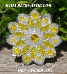 "MBA #5620B-975  ""Yellow & Clear Luster"""