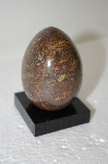 Large Brown Gemstone Hand Cut & Polished Egg