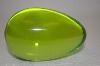 Large Green Glass Egg