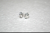 "**Charles Winston 1ct Hugs & Kisses ""X&O"" CZ Pierced Earrings"