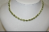 """SOLD""  30ct Peridot Sterling Tennis Necklace"