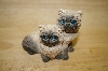 "+MBA #14-123  ""Stone Critters ""Long Hair Hymalians"""