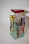 **Made In Italy Hand Painted Perfume Bottle