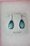 **MBA #16-654  Beautiful Artist Signed Blue Turquoise Earrings