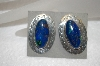 +MBA #16-171  Beautiful Hand Made Sterling Chrysocolla Earrings