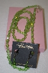 **MBA #16-619  Buck Hill Green Swarovski Crystal 4 Piece Set