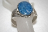**MBA #16-320  Hand Made Blue Lapis Cuff Bracelet