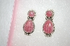 +MBA #16-286  Rhodochrosite Sterling Pierced Earrings