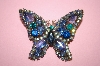 +MBA #16-398  Weiss Crystal Butterfly Pin