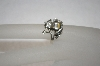 **MBA #16-146  Sterling Moveable Frog Ring