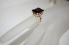 **MBA #16-650  Square Cut Amethyst Ring
