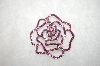 Pink Crystal Rose Pin