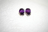 +MBA #17-689  Artist Signed Amethyst Earrings