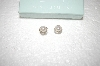 +MBA #17-215  Ross-Simons Cultured Freshwater Pearl & Diamond Earrings