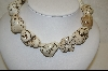 ** Jumbo White African Howlite Nugget Necklace