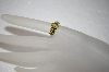 **MBA #17-163  14K Marquise & Princess Cut Peridot Ring