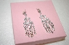 **MBA #17-488  Charles Winston Clear Cz Fancy Drop Earrings